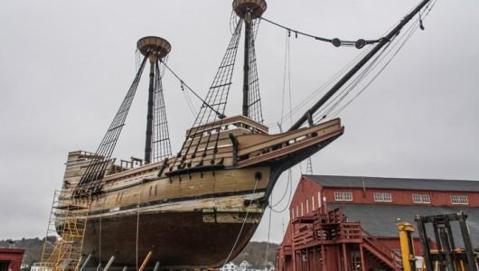 Mayflower II at Mystic Seaport