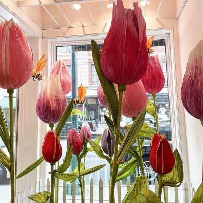 Tulip Window Display